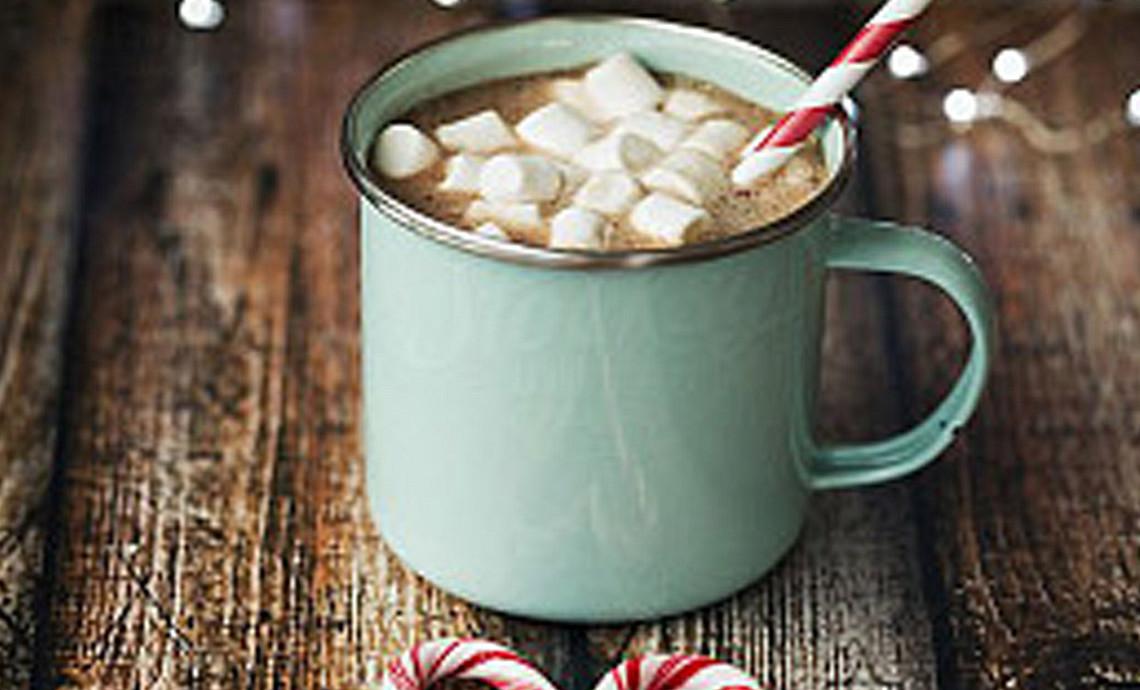 Kerstkoffie - met marshmallows