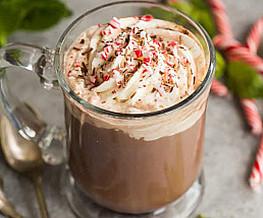 Kerstkoffie - met pepermunt
