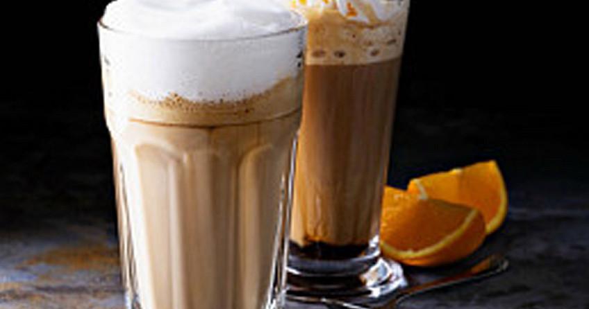 Kerstkoffie - met sinaasappel