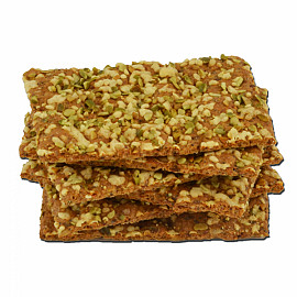 Crackers low carb kaas pompoen