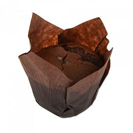 Vegan muffin chocolade