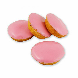 Mini roze koek