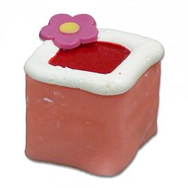 Crèmegebak kasteeltje