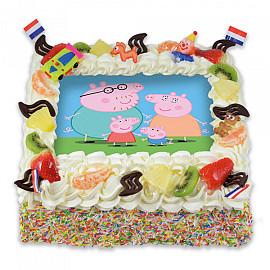 Afbeeldingstaart Peppa Pig